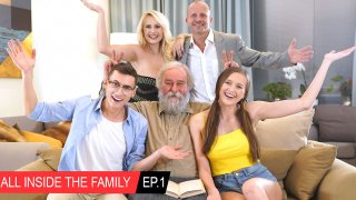 All inside the family Ep.1 Oops I fucked my stepmom! - Club Seventeen