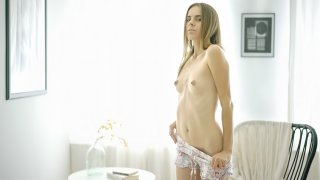 Cutie spices her morning - Teen Mega World