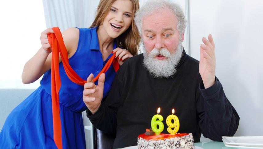 Happy birthday and happy orgasm! - Teen Mega World
