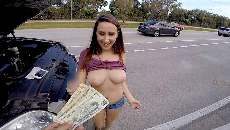 Ashley Gets Towed - Teens Love Money