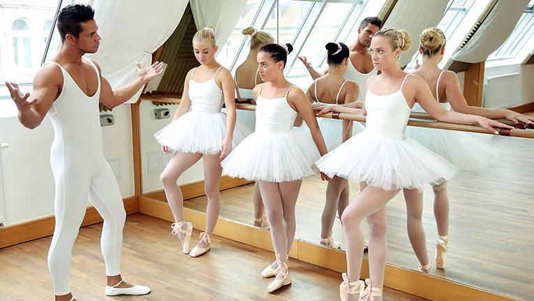 Ballet Rehearsal - TeamSkeet X Club Sweethearts