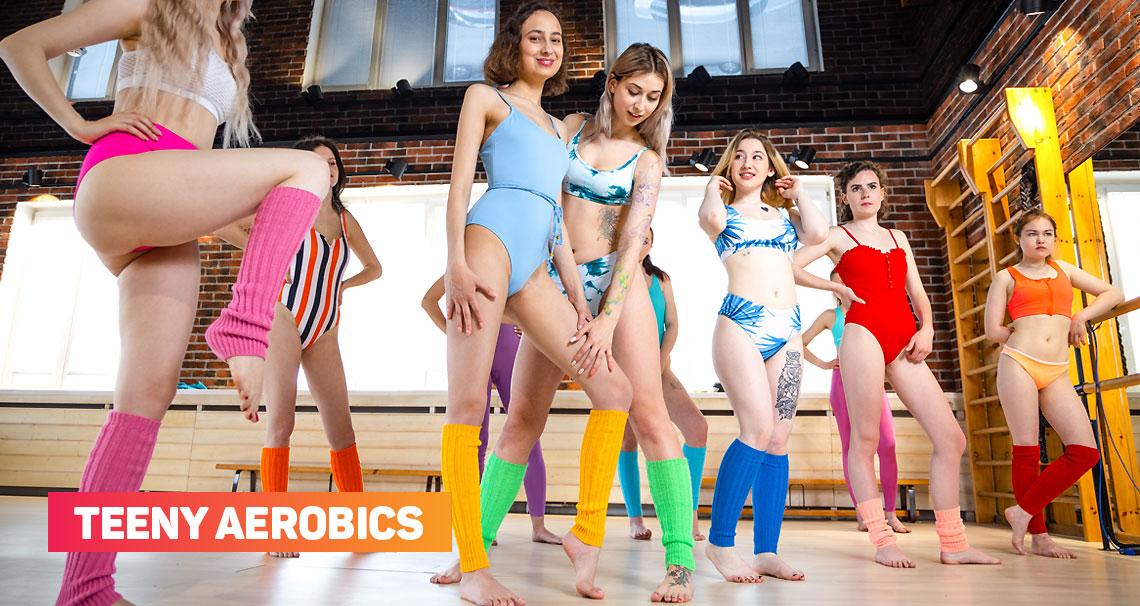 10 Girls Aerobics - Club Seventeen